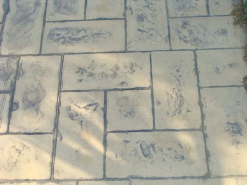 beton amprentat slatina