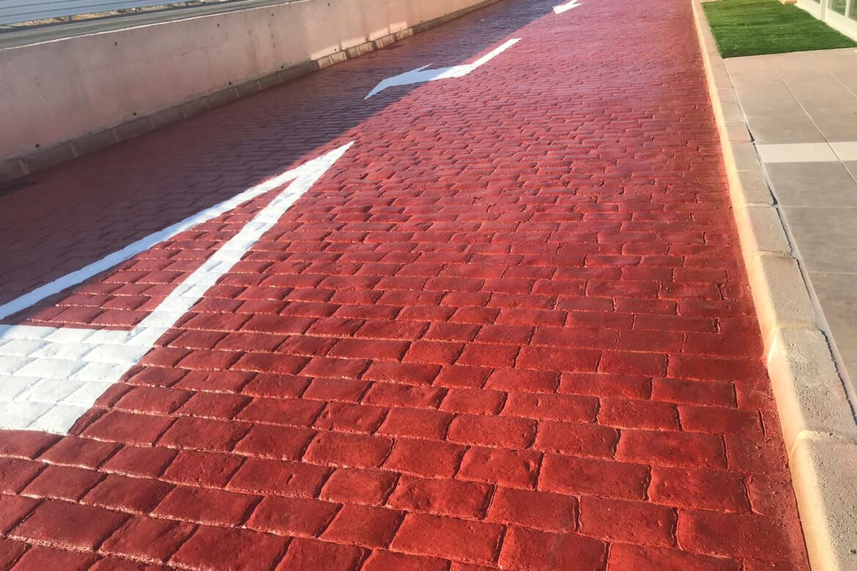 Lucrari beton amprentat